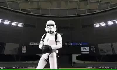 Watch and share If Darth Vader Plays Baseball GIFs on Gfycat