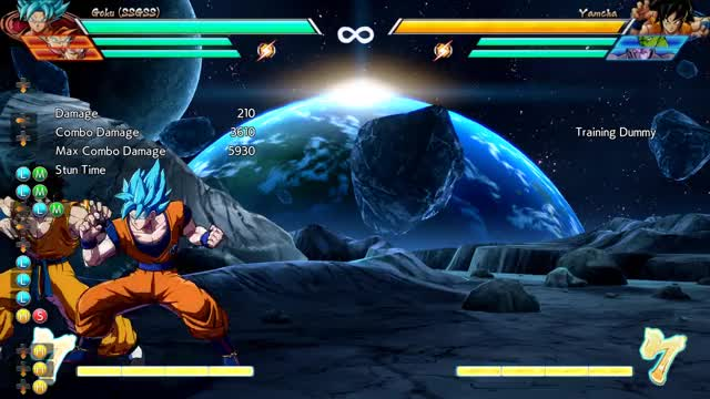 Watch ssb goku combo GIF by @sunbae on Gfycat. Discover more related GIFs on Gfycat