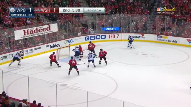 Watch Dowd perfectly sets up Hagelin for a breakaway out of the penalty box GIF by Beep Boop (@hockeyrobotthing) on Gfycat. Discover more Washington Capitals, Winnipeg Jets, hockey GIFs on Gfycat