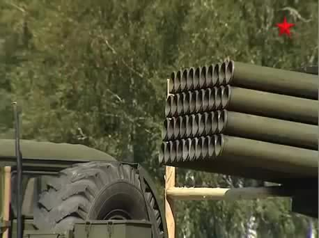 missilegfys, The BM-21 (Grad) launch vehicle / РСЗО 9К51 (Град) 122 мм (reddit) GIFs