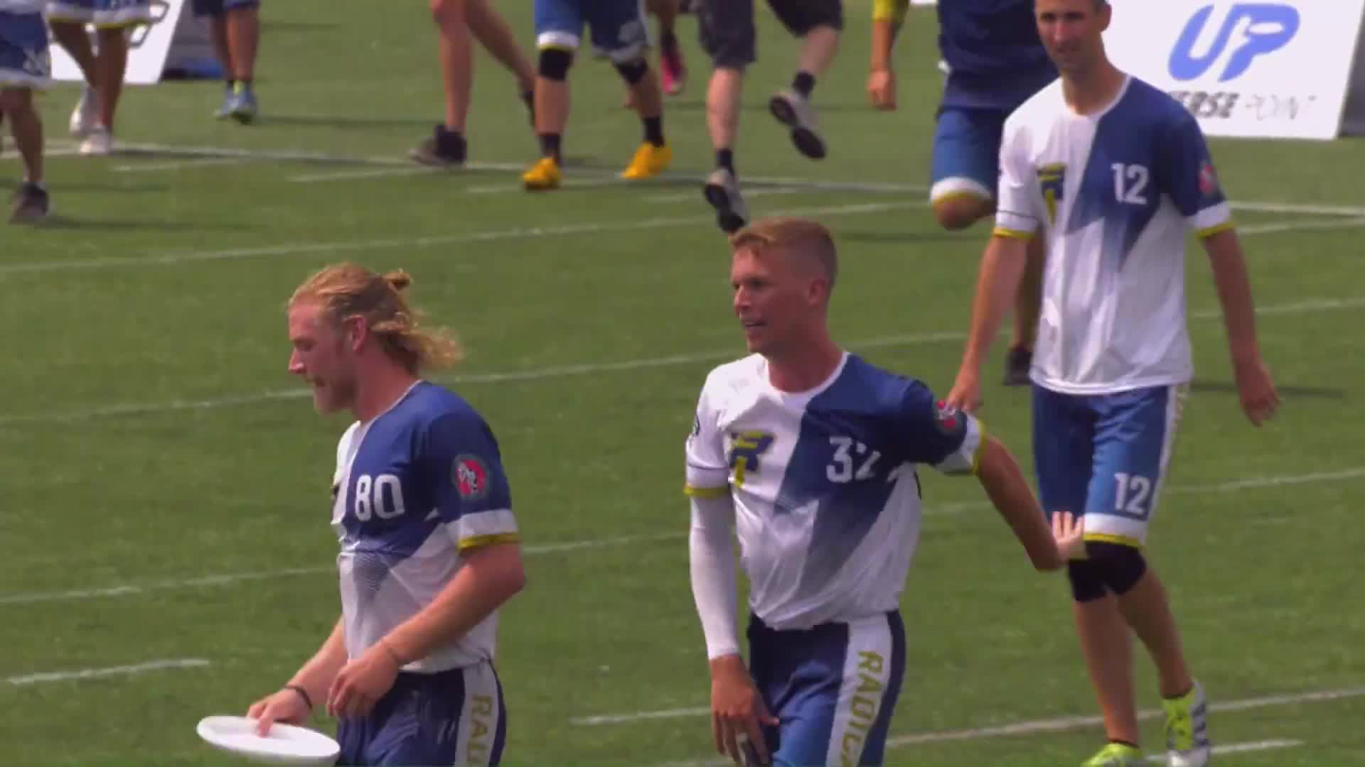 Sports, TheAUDLChannel, american ultimate disc league, audl, highlights, kevin pettit-scantling, madison radicals, sports, theaudlchannel, ultimate, ultimate frisbee, Kevin Pettit-Scantling CPR Celebration GIFs