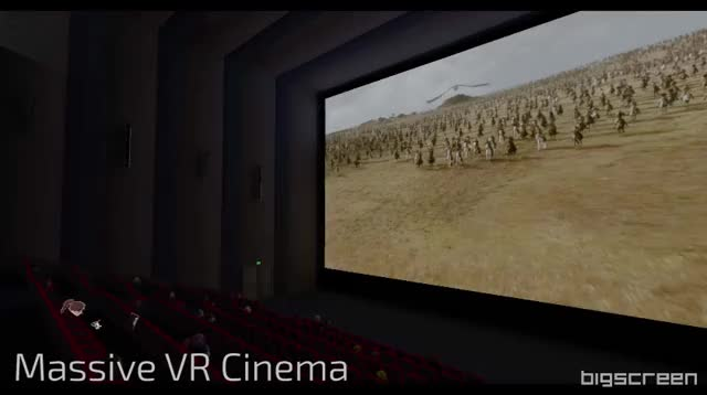 Bigscreen Cinema Update Features GIF by (@azadux) | Find, Make