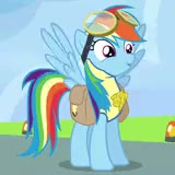 Watch Myatomsmadethis made a blasphemous remark about Best Pony Ra GIF on Gfycat. Discover more Rainbow dash, best pony, dashie, pegasus, rainbow dash pony GIFs on Gfycat