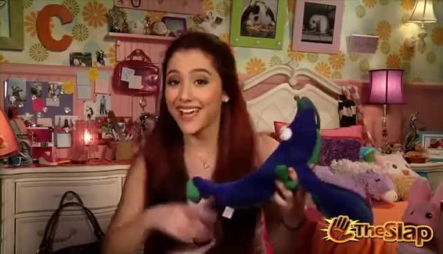 @ArianaGrande, Blue Plush Lobster :) GIFs