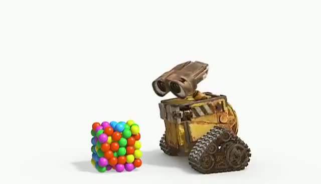 Watch and share WALL-E & Bouncy Balls GIFs on Gfycat