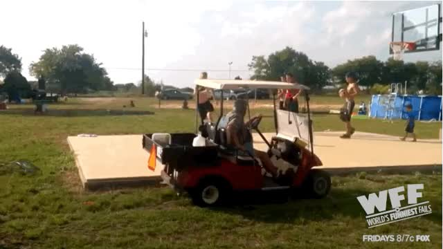 Watch and share Golf Cart Wedgie animated stickers on Gfycat