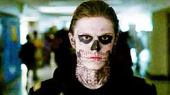 Watch and share Tate Langdon GIFs and Evan Peters GIFs on Gfycat