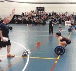 Weightlifting Fail Flip Over GIFs
