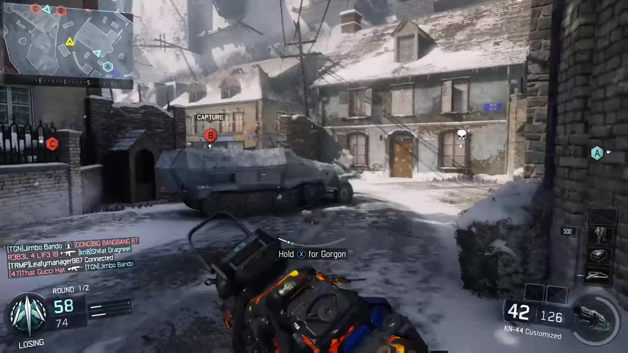 blackops3, Unexpected GIFs