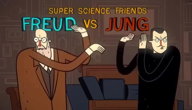 freud vs jung