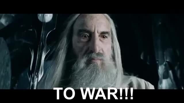 Watch Saruman - To War GIF on Gfycat. Discover more Grima, Helm's Deep, Orthanc, Saruman, The Lord of The rings, The two towers, To War, Uruk-Hai, War, Wormtongue GIFs on Gfycat