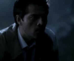 quiet, shhh, silence, Supernatural Castiel Shhh GIFs