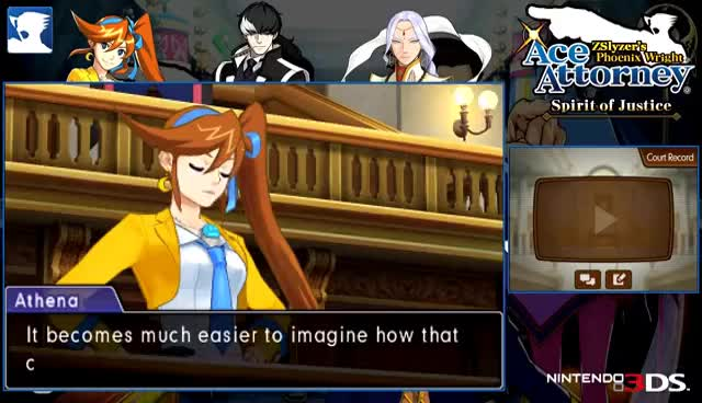 Watch and share Phoenix Wright: Spirit Of Justice #49 ~ Turnabout Storyteller - Trial Latter (1/4) GIFs on Gfycat