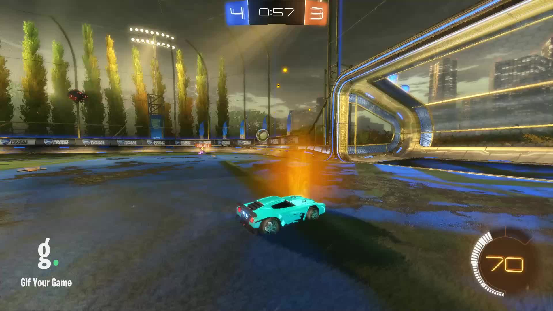 Gif Your Game, GifYourGame, Goal, MrFudgeisgood, Rocket League, RocketLeague, Goal 8: MrFudgeisgood GIFs
