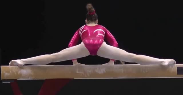 Watch this ass GIF by @sandlecrantz on Gfycat. Discover more ass, barefoot, booty, butt, caucasian, gymnast, gymnastics, leotard, sexy, shiny, stretching GIFs on Gfycat