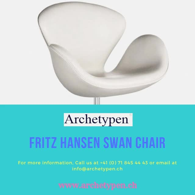 Watch Fritz hansen swan chair GIF by Archetypen (@archetypen) on Gfycat. Discover more chair, furniture GIFs on Gfycat