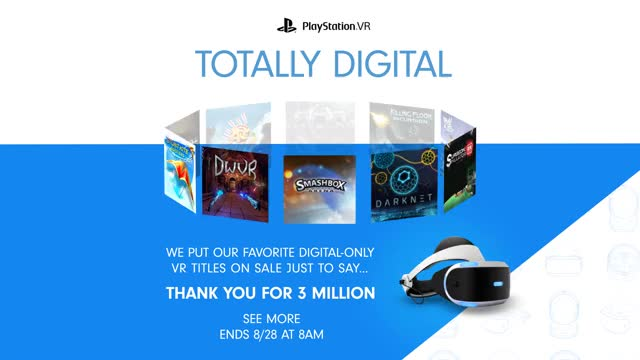 Watch PS VR Thank You For 3 Million GIF by PlayStation (@playstation) on Gfycat. Discover more related GIFs on Gfycat