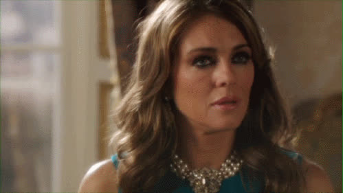 elizabeth hurley, 21. The Dagger Eyes: For when you want people to truly fear you. GIFs