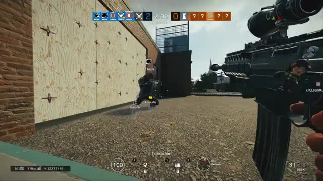 Watch 280 iq claymore GIF by @doctorduckman on Gfycat. Discover more r6, siege GIFs on Gfycat