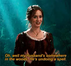 Watch and share The Baker's Wife GIFs and Into The Woods GIFs on Gfycat