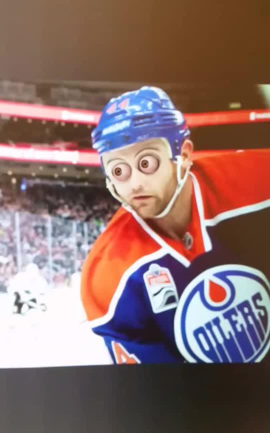 EdmontonOilers, Zack Kassian Death Stare GIFs