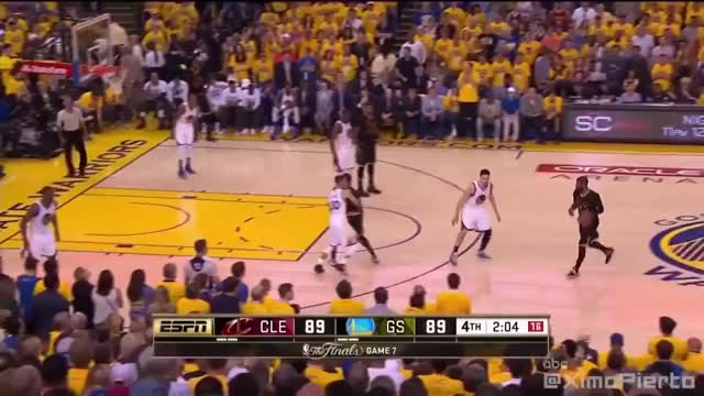 Watch LeBron James CRAZY Chasedown Block on Andre Iguodala |2016 NBA Finals Game 7| GIF on Gfycat. Discover more Cleveland Cavaliers, basketball GIFs on Gfycat