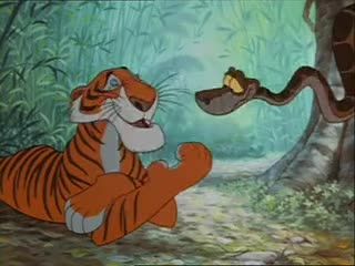 Watch and share The Jungle Book Shere Khan Kaa GIFs on Gfycat