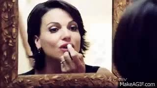 Watch Regina Mills lipstick GIF on Gfycat. Discover more related GIFs on Gfycat
