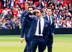 Watch and share Made Me So So Happy GIFs and Edwin Van Der Sar GIFs on Gfycat