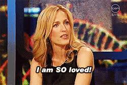 gillian anderson, So Loved Gillian Anderson GIFs