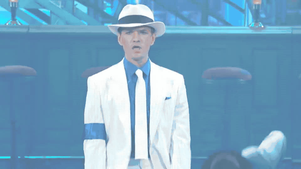 attitude, battle, celebration, criminal, dance, epic, harris, jackson, lip, michael, neil, patrick, perform, rock, smooth, star, sync, Neil Patrick Harris - Smooth criminal GIFs