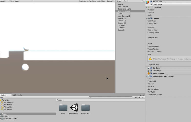 Unity Camera Bug Demo