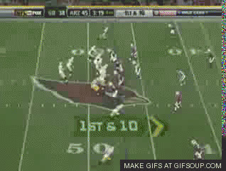 Greg Jennings vs Cardinals GIFs