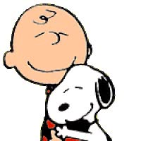 Watch and share Hugging Charlie Brown animated stickers on Gfycat
