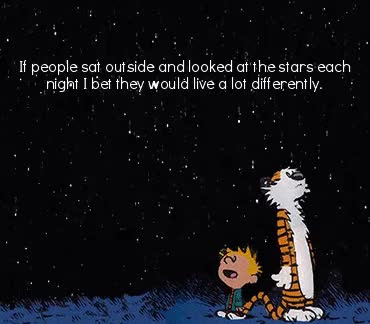 Watch and share Quote Of The Week GIFs and Calvin And Hobbes GIFs on Gfycat