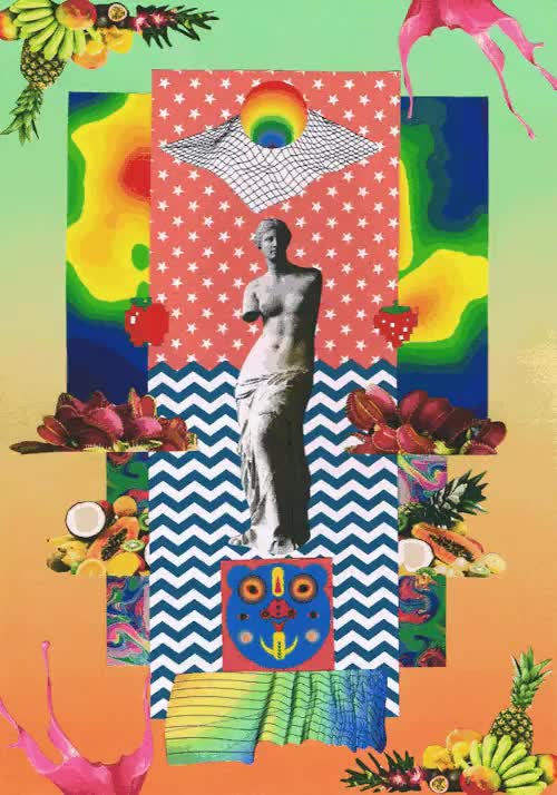 Watch and share Lsd Dream Emulator GIFs and Artists On Tumblr GIFs on Gfycat