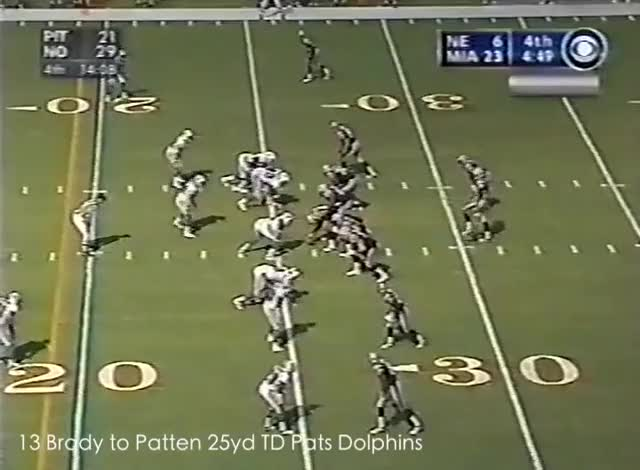 Watch and share Tom Brady TD 2002 GIFs by Leo Spaceman on Gfycat