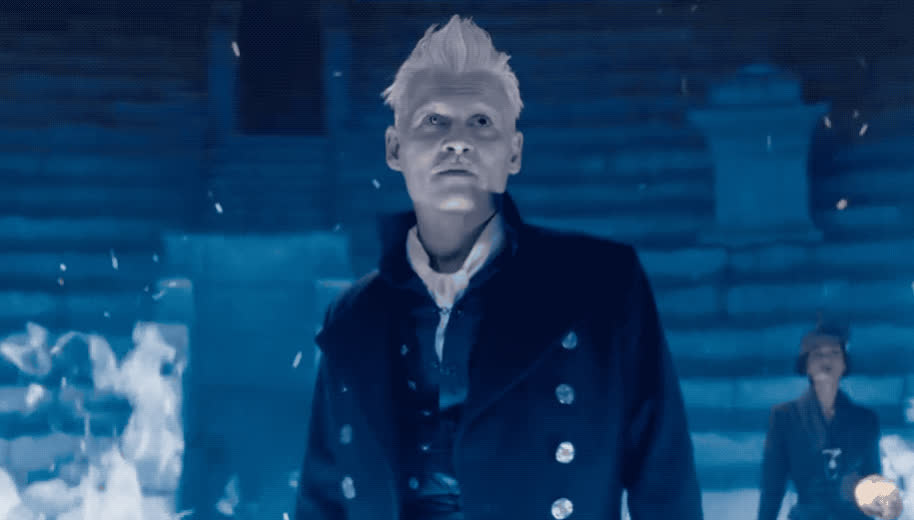 angry, away, beasts, crimes, depp, fantastic, fight, fire, furious, gellert, go, grindelwald, jk, johnny, mad, of, off, pissed, rowling, the, Fantastic beasts - The crimes of Grindelwald GIFs