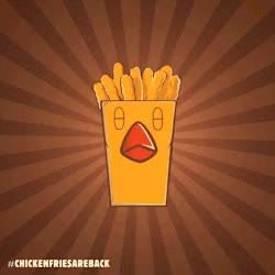 Watch and share Gif Burger King Loop Chicken Fries ChickenFriesAreBack GIFs on Gfycat
