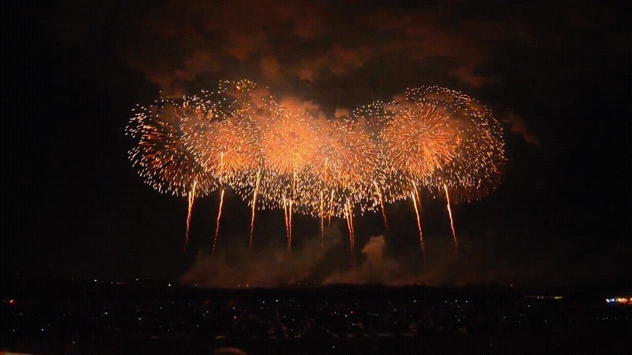 woahdude, wide angle fireworks GIFs