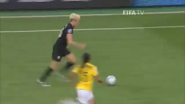 Watch and share Abby Wambach Goal Against Brazil GIFs by futfem on Gfycat