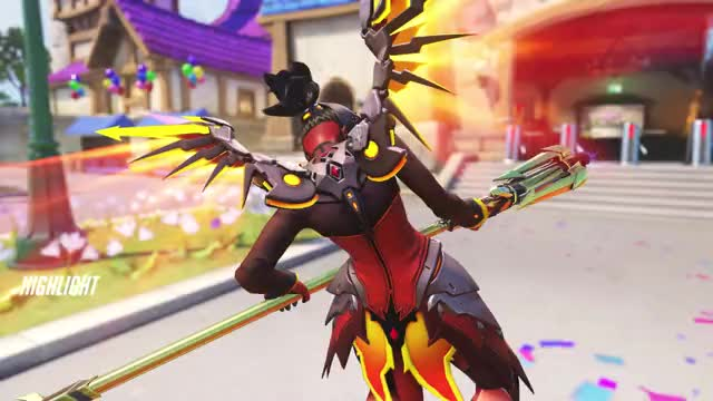 Watch Mercy (127) GIF on Gfycat. Discover more highlight, mercy, overwatch GIFs on Gfycat