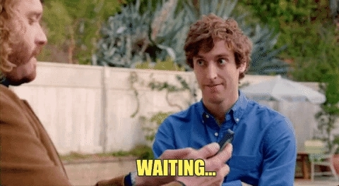 hurry, hurry up, silicon valley, waiting, come on up GIFs