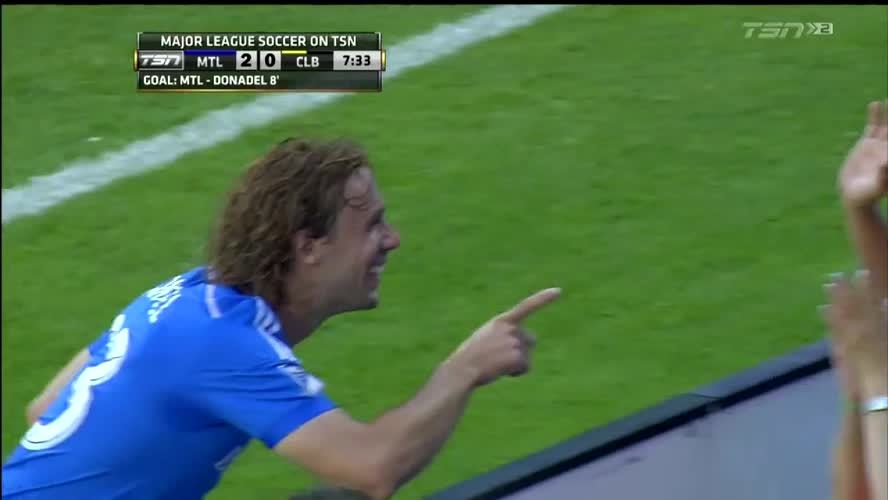 footbaww, soccer, Screamer from Marco Donadel to give Montreal Impact the 2-0 lead (reddit) GIFs