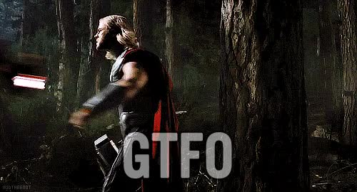 Watch and share Gtfo GIFs by Reactions on Gfycat