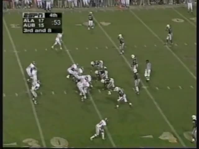 Watch 1997 Iron Bowl Auburn vs. Alabama GIF on Gfycat. Discover more Sports, auburntigerfan91, football, football sec 1997 auburn alabama iron bowl GIFs on Gfycat