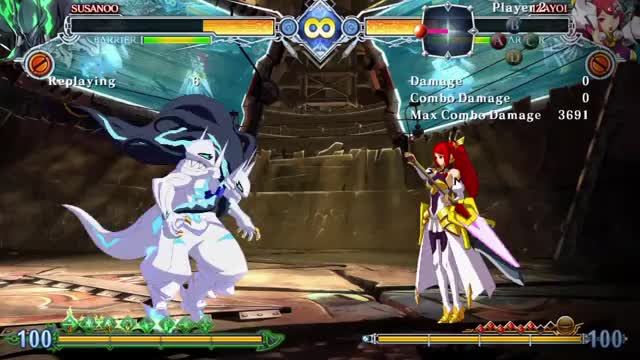 Watch and share BlazBlue Central Fiction 20171104005927 GIFs on Gfycat