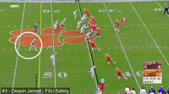 Watch james4 (agressive vs. WR stiffarm, forcin outta bounds) GIF on Gfycat. Discover more related GIFs on Gfycat
