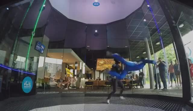 Indoor Skydiving EVG GIFs