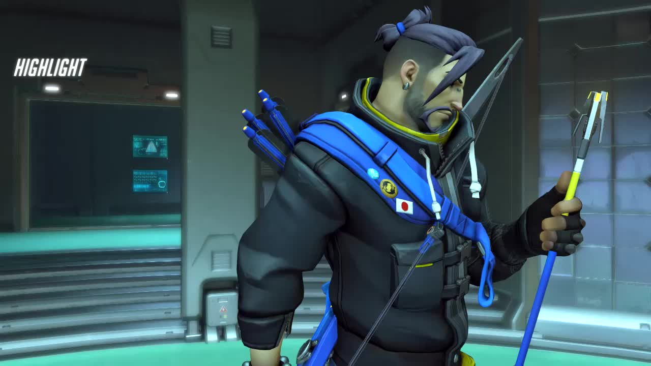 hanzo, overwatch, Unexpected GIFs